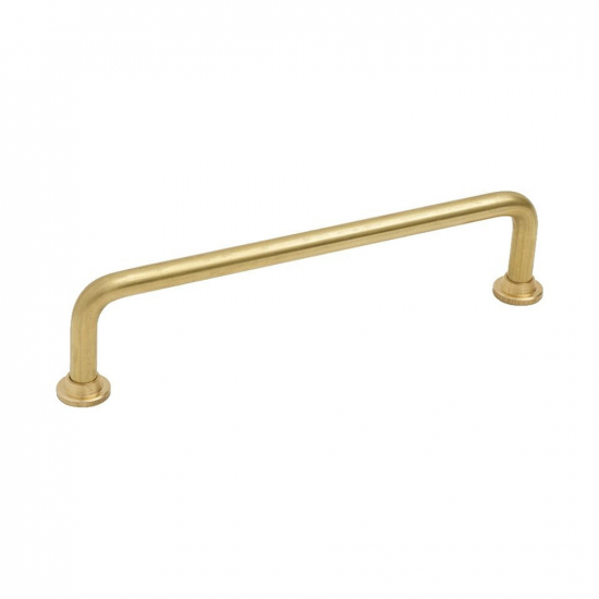 Handle 1353 - 128mm - Untreated Brass in the group Products / Kitchen Handles / Brass at BeslagOnline (33063-11)