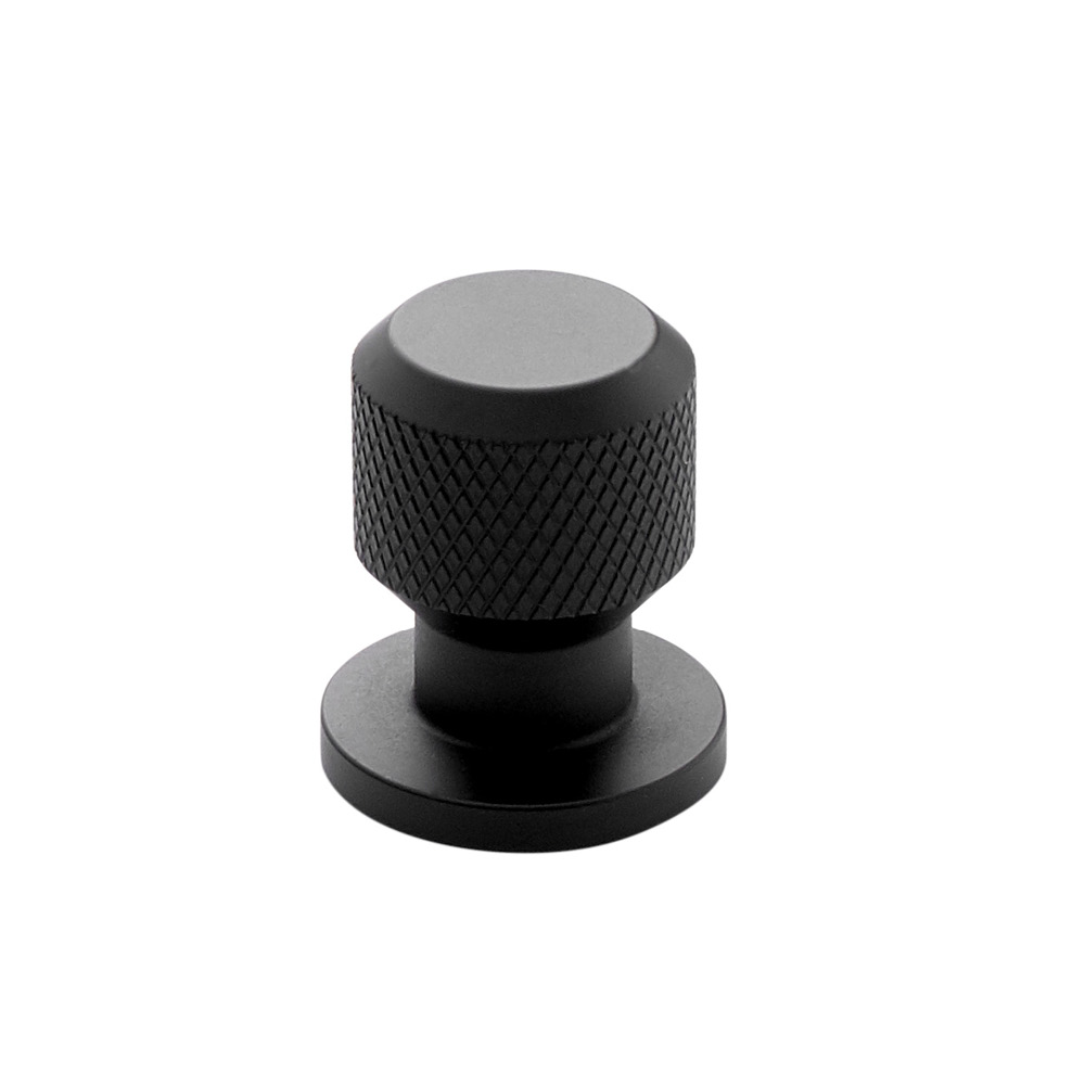 Cabinet Knob Manor Round - Matte Black in the group Products / Cabinet Knobs / Black at BeslagOnline (351036-11)