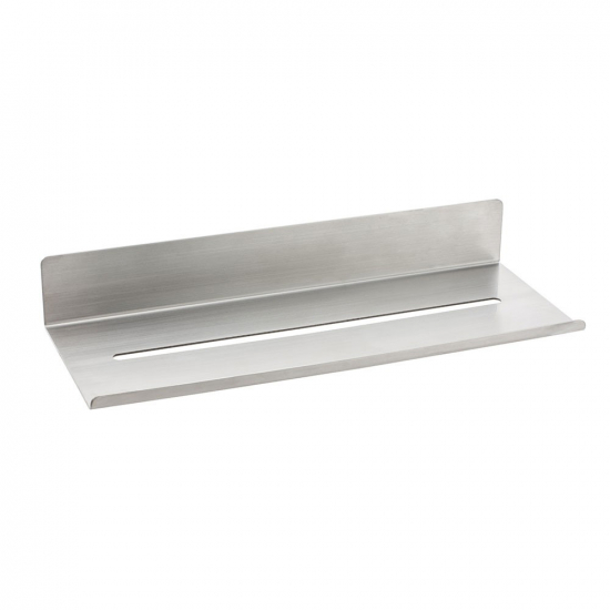 Base Shelf - Brushed Stainless Steel in the group Bathroom Accessories / All Bathroom Accessories / Bathroom Shelves at BeslagOnline (606061-41)