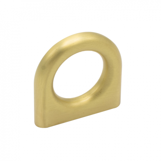 Handle Luck - Brushed Brass in the group Products / Kitchen Handles / Brass at BeslagOnline (handtag-luck-massing)