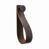 Loop Strap - Brown Leather/Matte Black