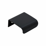 Edge Pull Lip - 40mm - Black