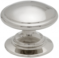 Cabinet Knob 24466 - 35 - Nickel-Plated