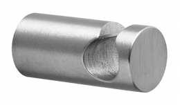 Hook CL 201 - Brushed Stainless Steel Finish