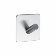 Base 200 1-Hook - Brushed Stainless Steel