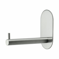 Base 100 Spare Paper Holder - Brushed Stainless Steel