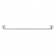 Base 200 Towel Rail - Brushed Stainless Steel
