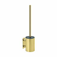 Solid Toilet Brush - Polished Brass