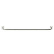 Solid Towel Rail - Brushed Stainless Steel