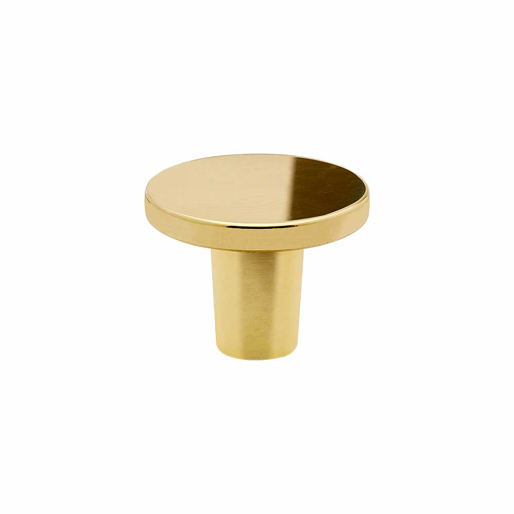 Cabinet Knob Dalby   Polished Brass In The Group Cabinet Knobs / Brass At  BeslagOnline (